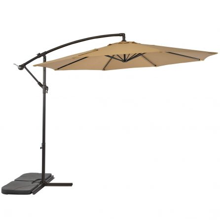 SUNLONO 10 Ft Cantilever Patio Umbrella