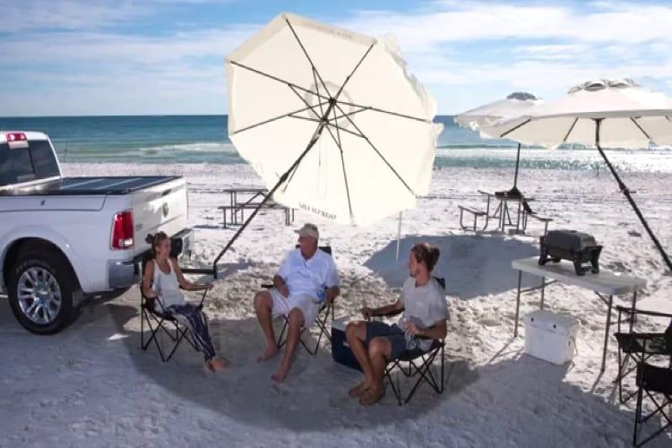 portable patio umbrella