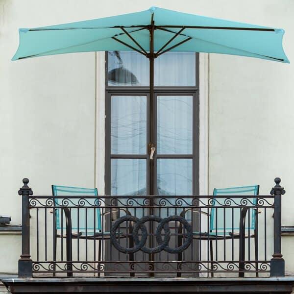 half patio outdoor umbrell